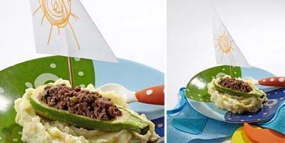 receita barquinha com pure 01 Receitas divertidas e deliciosas para crianças