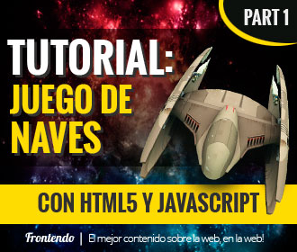 Tutorial juego de naves con html5 y javascript