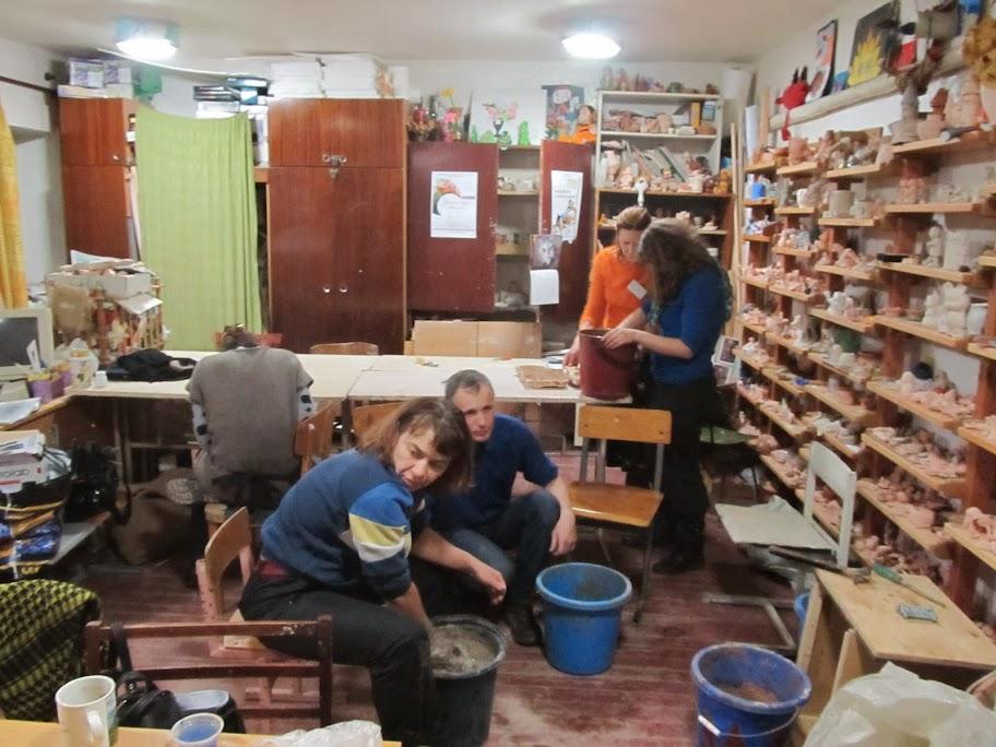 Урок приготовления глины