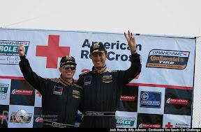 Jack Rousch, Billy Johnson - Continental Tire Sports Car Challenge