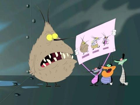 Mèo Oggy và những chú gián tinh nghịch- Phần 3-Tập 24: tổ tiên| Phim hoạt  hình vui nhộn