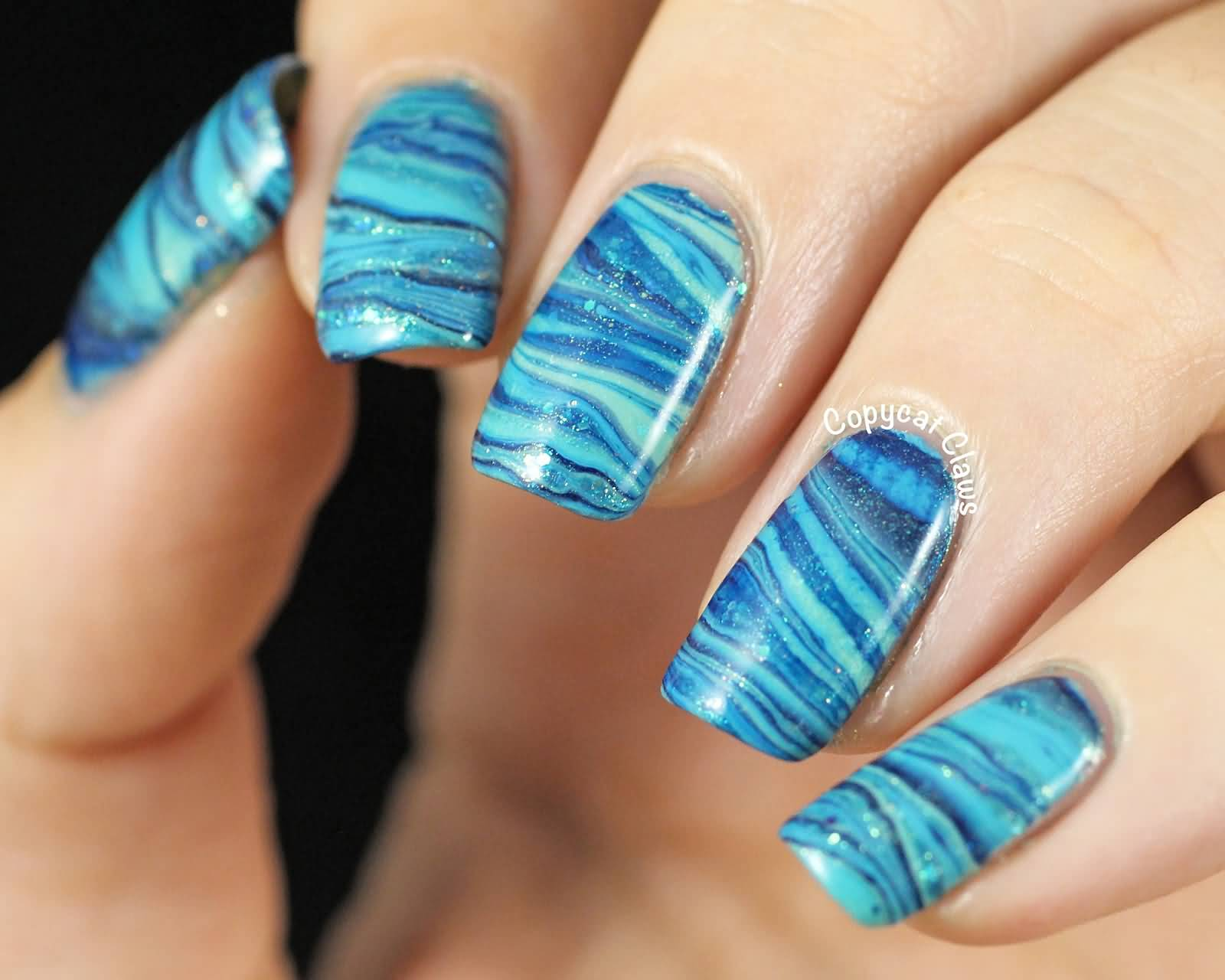 Newspaper Nail Art With Water Dailymotion Ideas