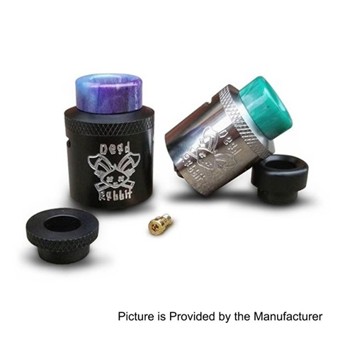 authentic-hellvape-dead-rabbit-rda-rebuildable-dripping-atomizer-w-bf-pin-silver-stainless-steel-24mm-diameter
