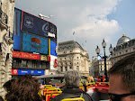 The big boards at Picadilly Circus
