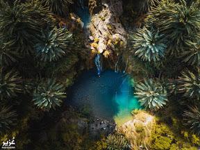 Waterfall in Pir Ghaib near Bolan