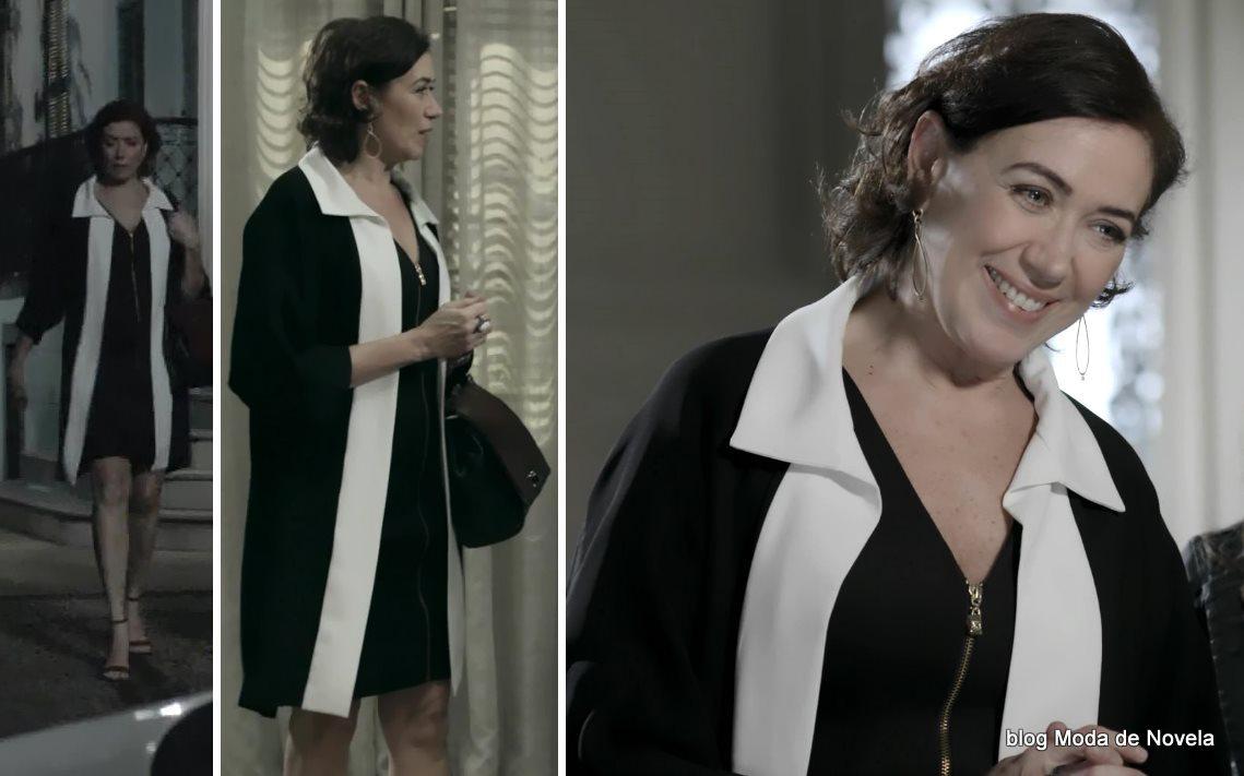 moda da novela Império - looks da Maria Marta dia 2 de agosto