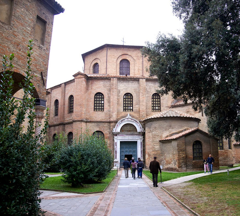 59. The Basilica of San Vitale. VI Century. Ravenna. 2013