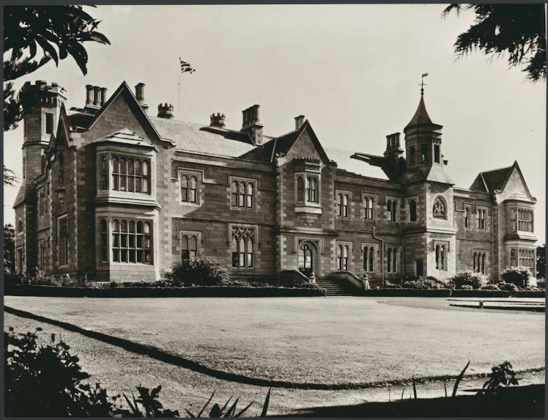 The Tudor-inspired Hobart Government House of Tasmania