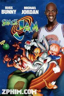 Đội Bóng Rổ Vui Nhộn - Space Jam (1996) Poster