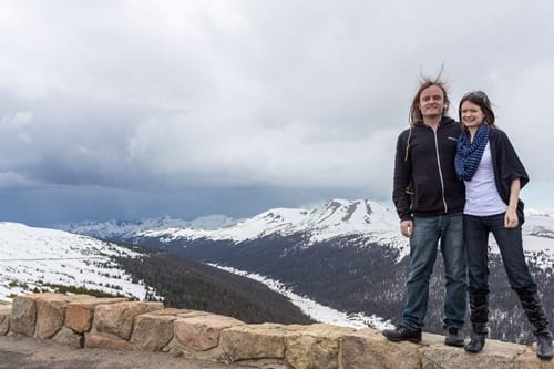 Rocky Mountain National Park Medicine Bow Curve