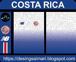Camiseta Costa Rica Visitante 2021 (Vector)