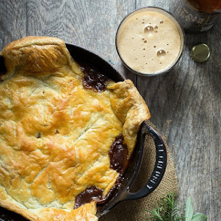 Steak and Ale Pie.