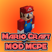 MOD PE Mario Craft Icon