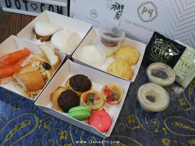 Afternoon Affair Takeaway dari The Prestige Hotel Pulau Pinang