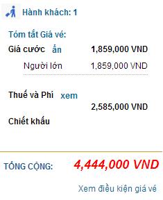 Vietnam Airlines bán vé khứ hồi 9 USD quốc tế