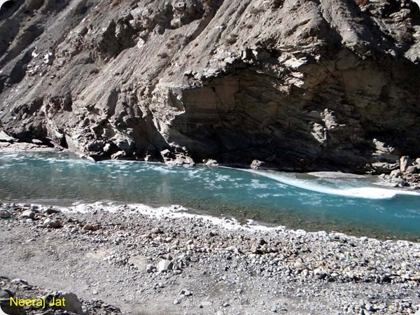 Crystal Clear water of Spiti