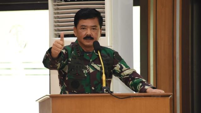 Panglima TNI ke Perwira Karier: Waspadai Perang Pikiran, Ada Kelompok Radikal