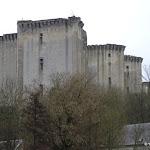 Château de La Ferté-Milon : depuis la vallée de l'Ourcq