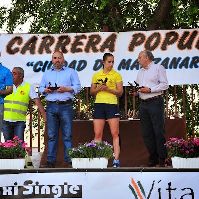 Carrera de Manzanares 2015 - Trofeos