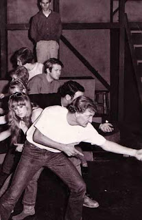 Rehearsing Viet-Rock by Meghan Terry, Theater Intime, Hollywood, CA, Summer 1967