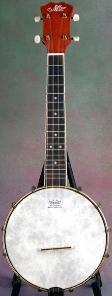 SHS International Morgan Monroe Banjo Ukulele