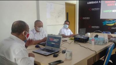 LKBN Antara Biro Pemerintah Aceh Adakan Pelatihan Kepada Praktisi Dinas Diskomtik Bener Meriah dan Aceh Barat