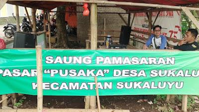 "Dengan Adanya Anggaran Dana Swadaya Masyarakar Pasar, ""PUSAKA"" Sukaluyu Akhirnya Mulai Di Bangun"