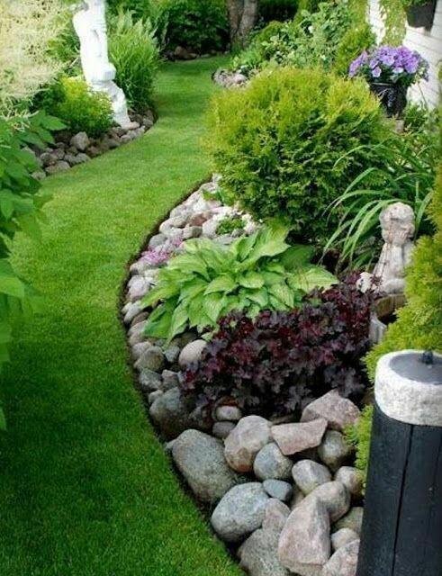 más y más manualidades: Ideas para usar piedras en la decoración de ...