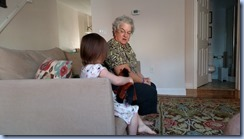 Playing with Grandma