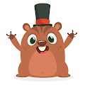 Cartoon Funny Chipmunk Free Download Vector CDR, AI, EPS and PNG Formats