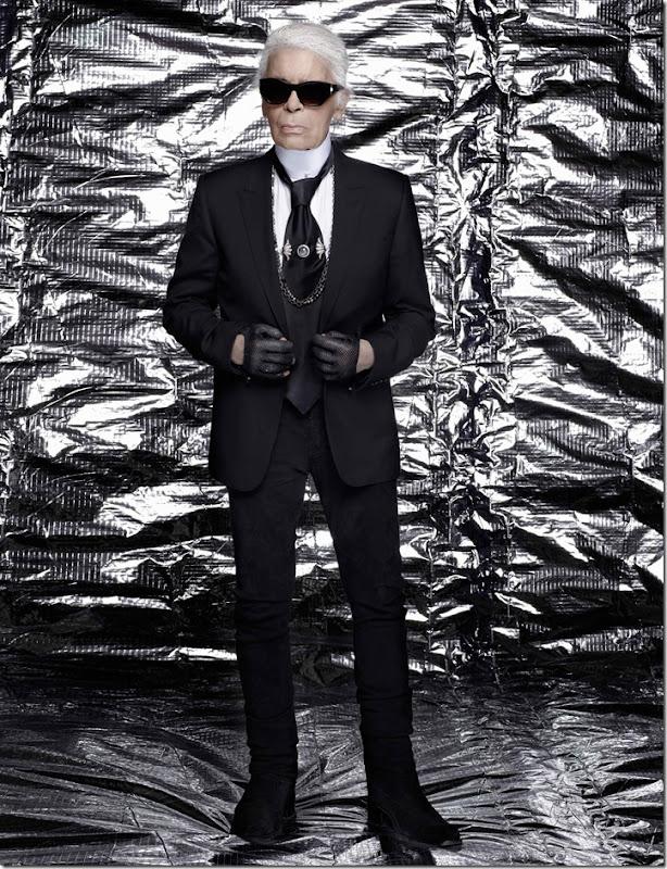 Portrait Karl Lagerfeld (c) Karl Lagerfeld copia