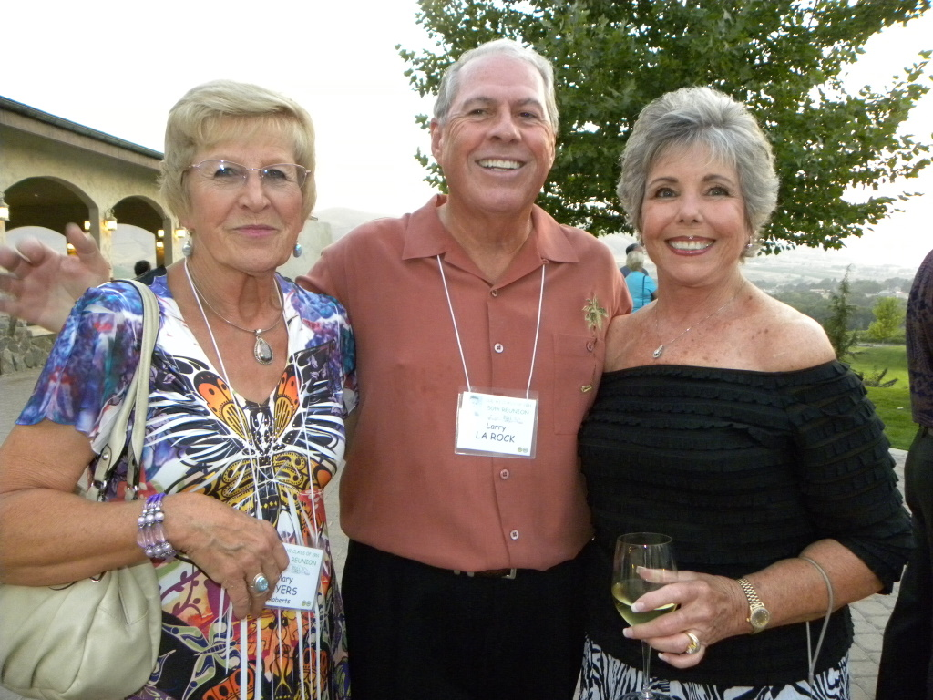 Mary Myers, Larry and Mary Ann La Rock