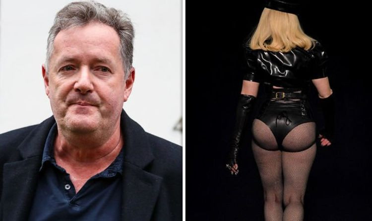 Piers Morgan trolls Madonna over her dominatrix outfit at the VMAs