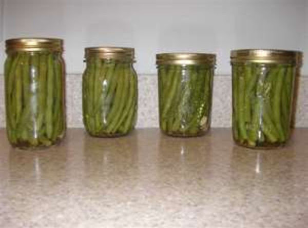 Pickled Green Beans Crispy Canned By Freda Recipe