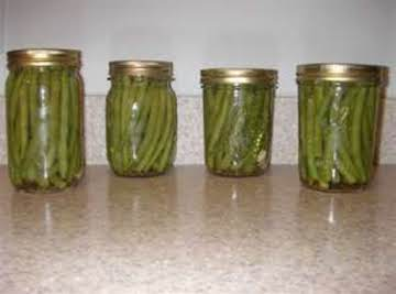 Pickled green Beans Crispy Canned By Freda