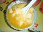 Milcheis mit Mango.....Yammmm