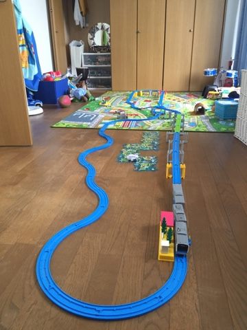 Plarail rail sets from Japan are great for kids! There are so many different Japanese trains and track formations.