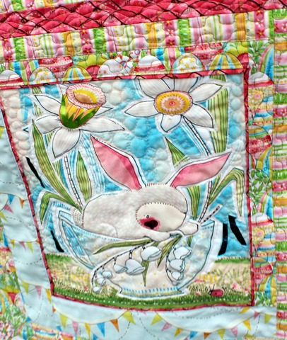 The Promise of Spring Quilt by Kim Lapacek