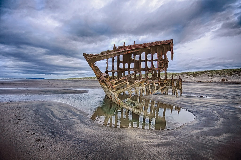"""""""The Peter Iredale"""" by Ardythe Wendt - 1st A General"""