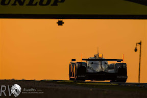 Driving into the sun - the morning at Le Mans (PHOTO: Rolex / Jad Sherif)