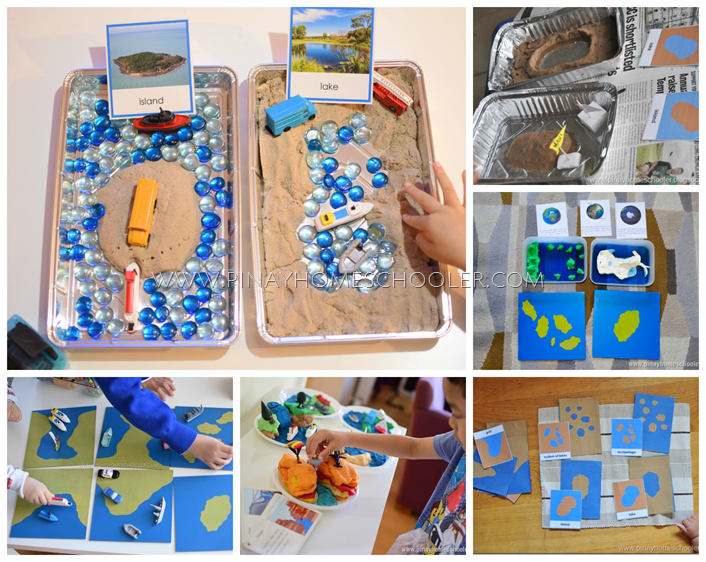 Ideas on How to Introduce Land and Water Forms to Kids