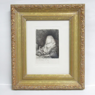Armand-Durand After Rembrandt Etching