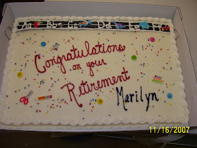 Retirement Cake title=