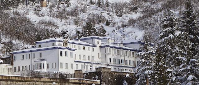 El Preventorio o Casa Infantil Covadonga de La Pola de Gordón (León)