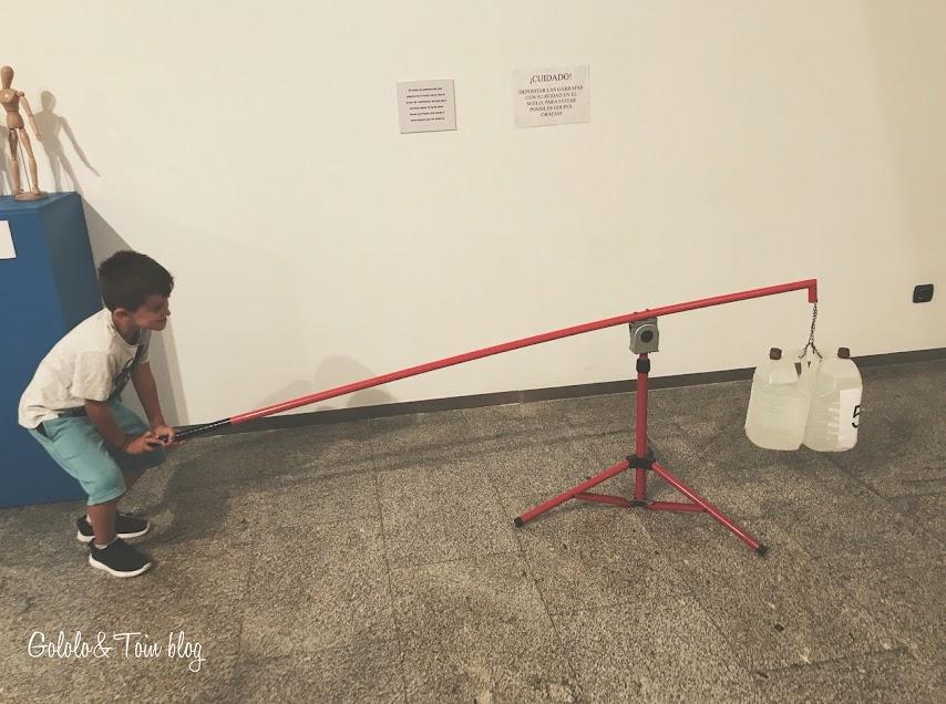 Exposición deporte por dentro en La Casa de las Ciencias de Logroño
