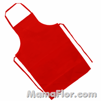 Mandil rojo