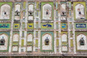 A wall of Royal fort, Lahore