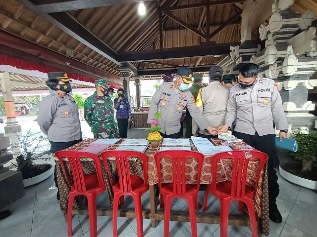 Polres Klungkung Lomba Poskamling Tingkat Polres se-Bali