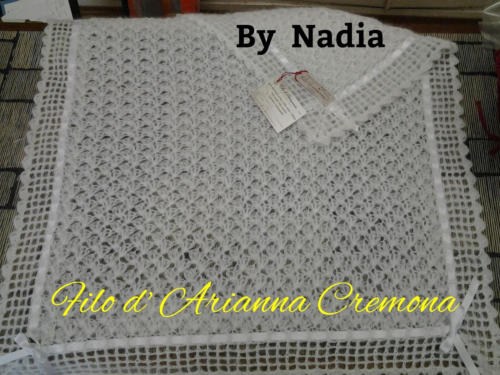 Amato Filo d'Arianna di Nadia Moretti - Cremona: Copertina per culla  AS43
