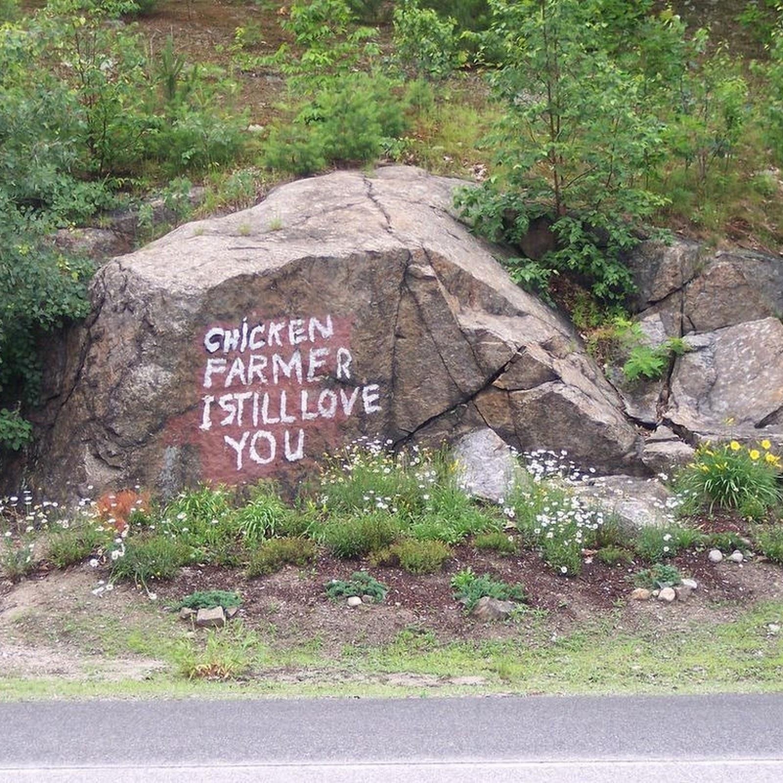 The Romantic Tale Of The Chicken Farmer Rock